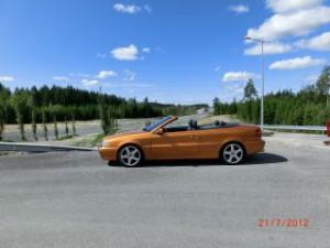 Lars Roos sköna cab 2.4T årsmodell 2000